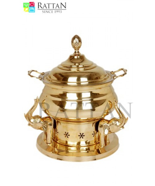 Brass Cooper Dish
