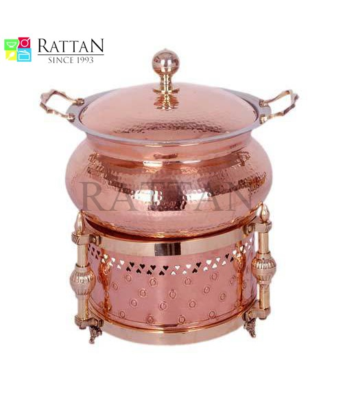 Copper Chaifing Dishes (2)