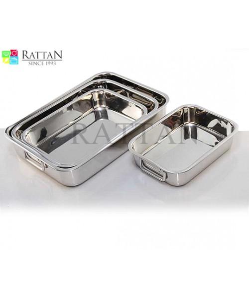 Premium Baking Tray   Rectangular