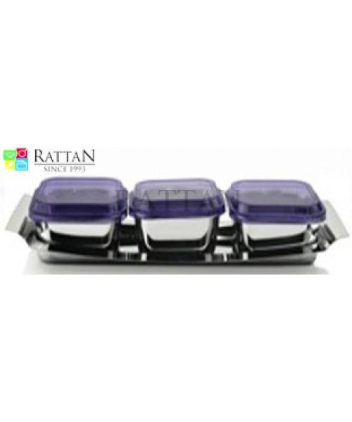 Rattan Dry Fruit Set 3
