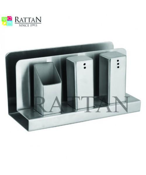 Rattan Salt & Pepper