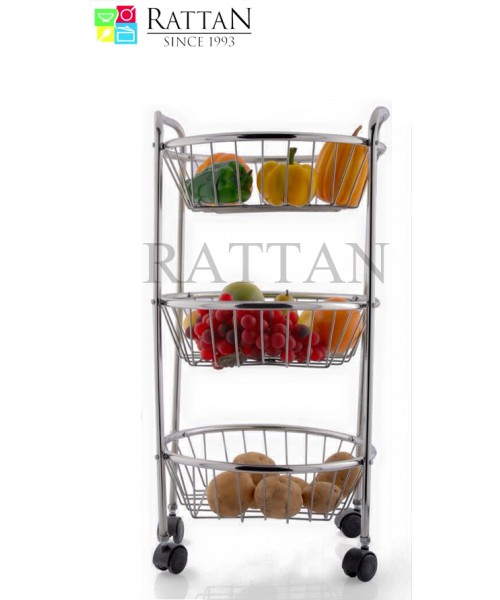Round 3 Shelf Vegetable Rack