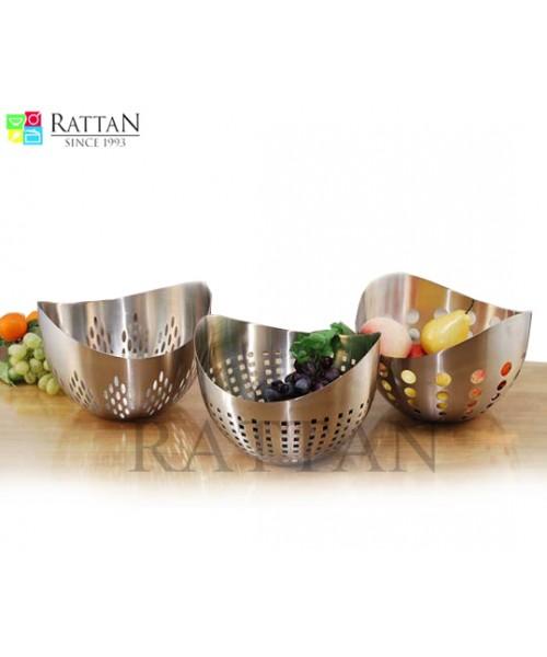 Steel Fruit Basket (Fruit Basket)