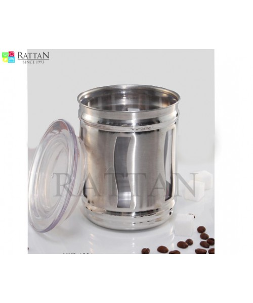 Transparent Canister