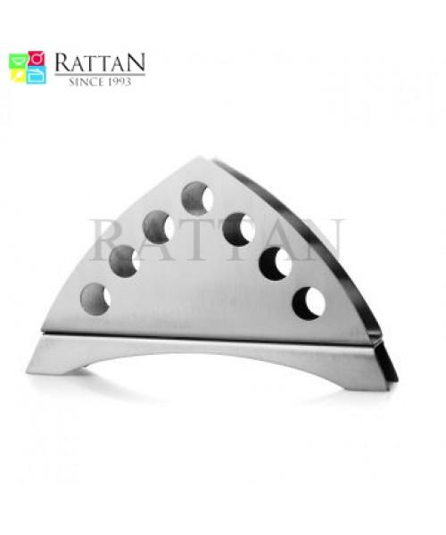 Triangular Tissue Paper Holder With Holes