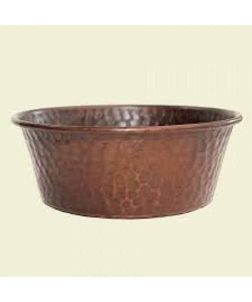 Copper Pet Bowl