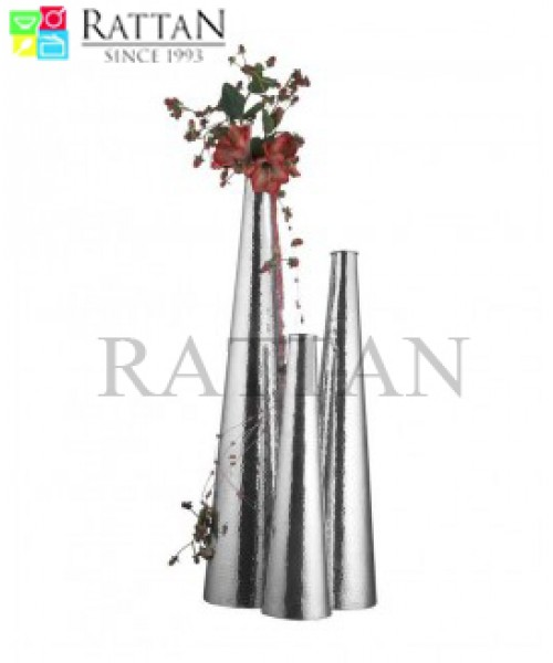Hammered Flower Vase Large