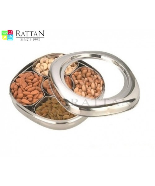 Stainless Steel Dry Fruit Box & Spice Box