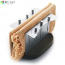 SS & Wood Napkin Holder