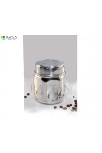 Hexagon Design Canister