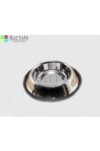 Non Tip Pet Bowls With Anti Skid Ring ( Side Window )