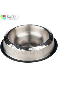 Pet Bowls With Anti Skid Ring ( Top Embossed )
