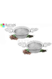 Rattan Strainer Set Of 2
