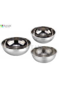 Stainless Steel Mixing Bowl Set Colander Set