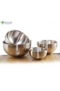 Steel Salad Bowl