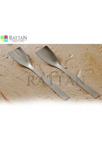 Steel Salad Server Italia   Small Salad Server