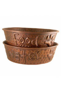 Food Water Copper Pet Bowl.Png