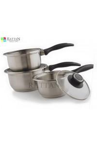 Saucepan With Glass Lids